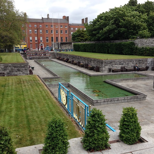 Garden of Remembrance in Dublin