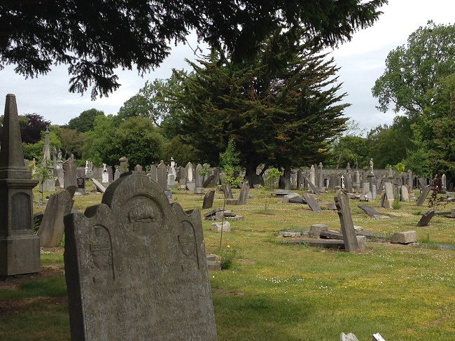 Glasnevin cemetery in Dublin 2
