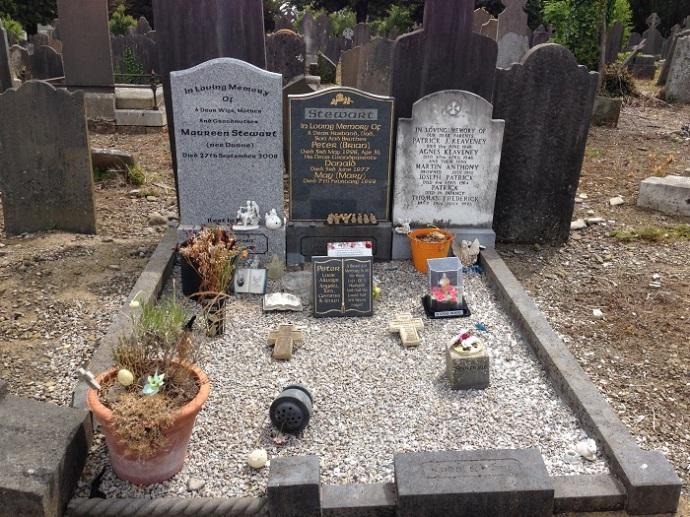 Glasnevin cemetery in Dublin 4