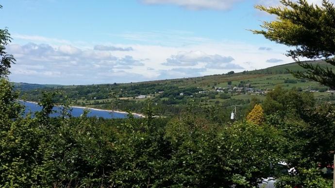 Irish countryside - Wicklow Mountains