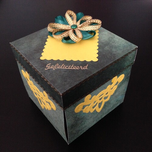 Birthday card box
