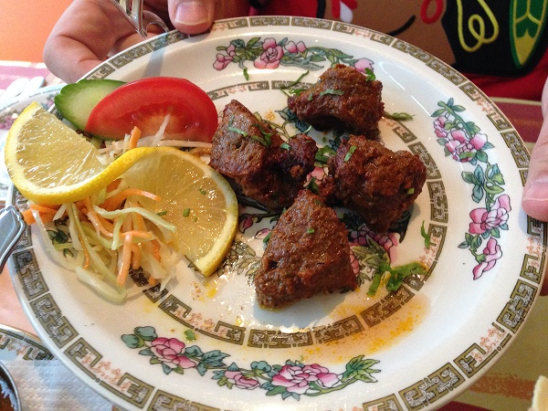 Beef at Ramna restaurant in The Hague