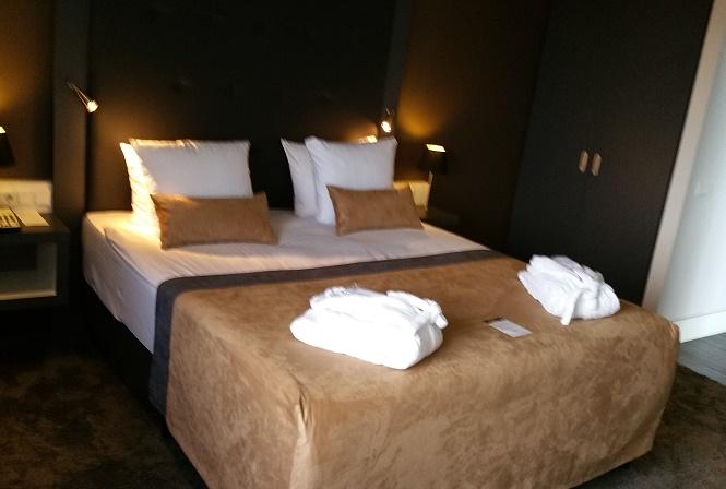 Executive suite Mercure hotel in Amersfoort living room