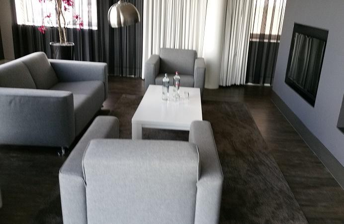 Living room Mercure hotel in Amersfoort