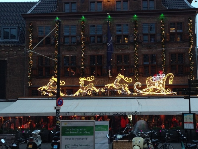 2015 Holiday decorations at 't Goude Hooft, The Hague