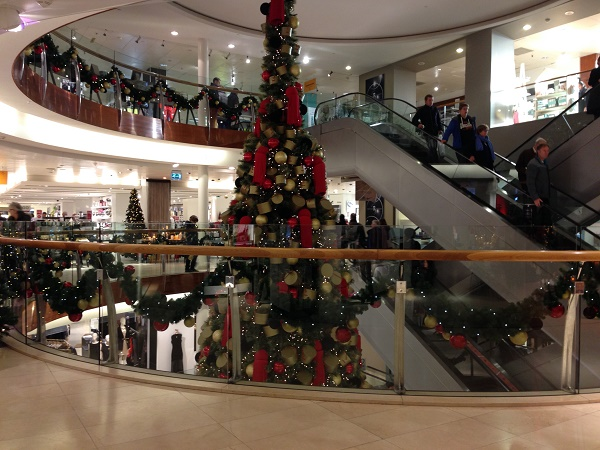 Bijenkorf Christmas tree 2015 (The Hague, 1)