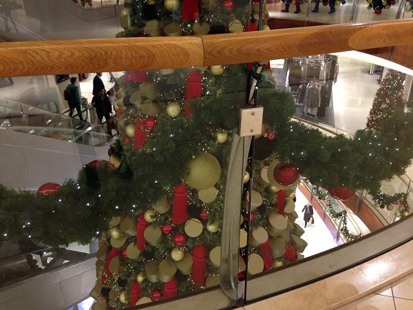 Bijenkorf Christmas tree 2015 (The Hague, 2)