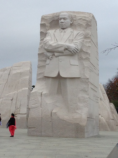 MLK memorial at Washington DC