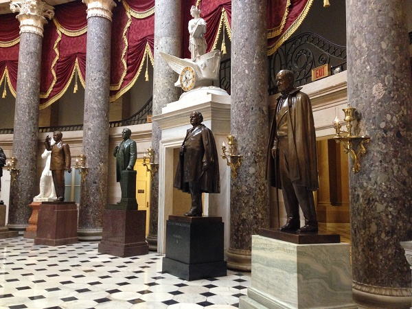 National Statuary Hall in the US Capitol