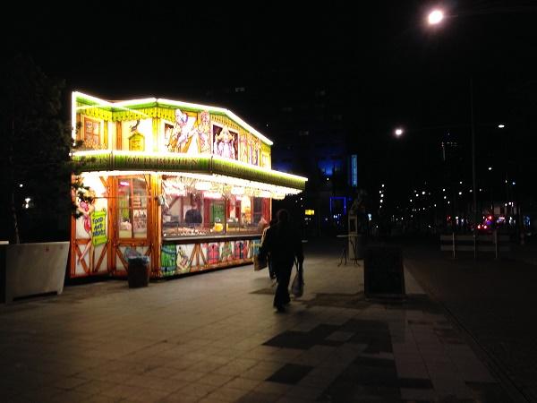Oliebollenkraam The Hague Centrum 2015