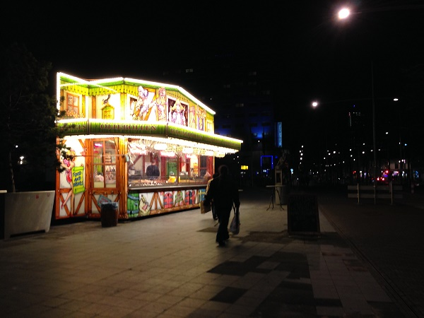 Oliebollenkraam The Hague Centrum 2015
