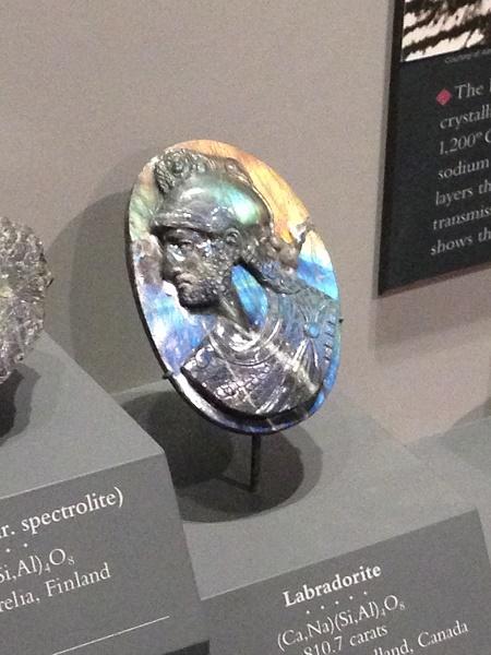 Piece of labradorite jewelry