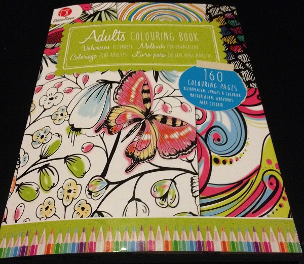 Adult coloring book in the Netherlands