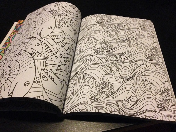 Adult coloring book (more blank pages)