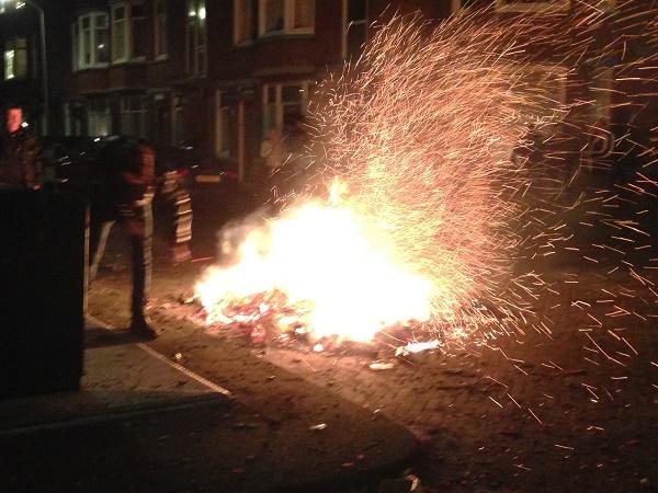 Firework sparks (Netherlands)