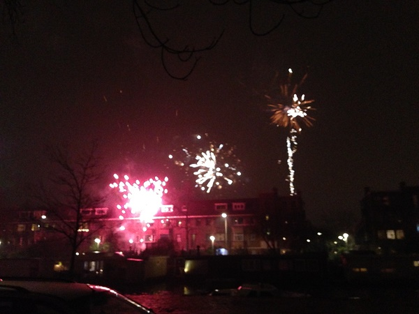 Fireworks in The Hague 2015 (Netherlands)