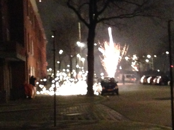 Fireworks in The Hague (Netherlands)
