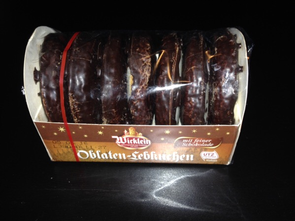 Package of Lebkuchen