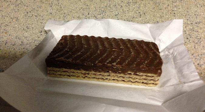 Penny wafel from Belguim