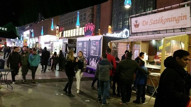 Den Haag verlichting food truck