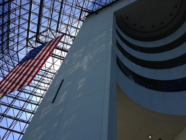 Inside JFK presidential library and museum
