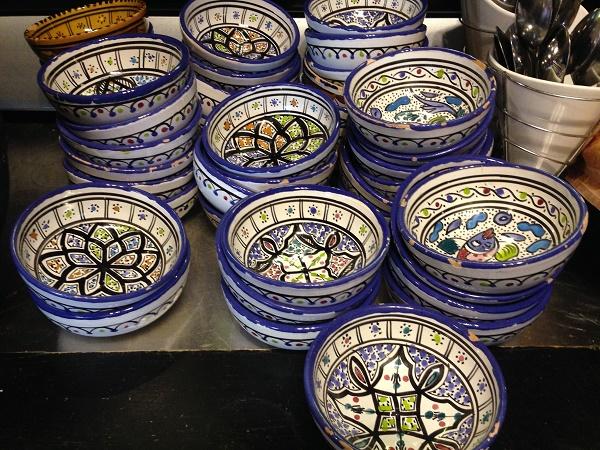 Bowls at Mezze Arabische Tapasbar