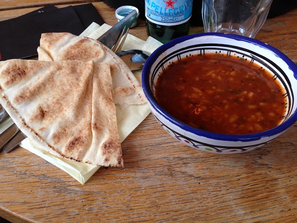 Soup at Mezze Arabische Tapasbar