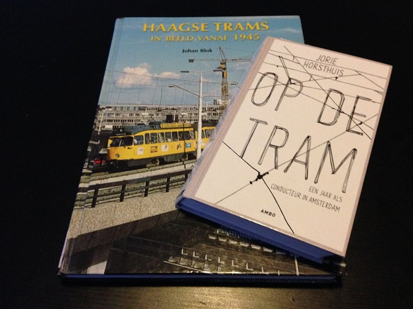 Two books about trams in the Netherlands