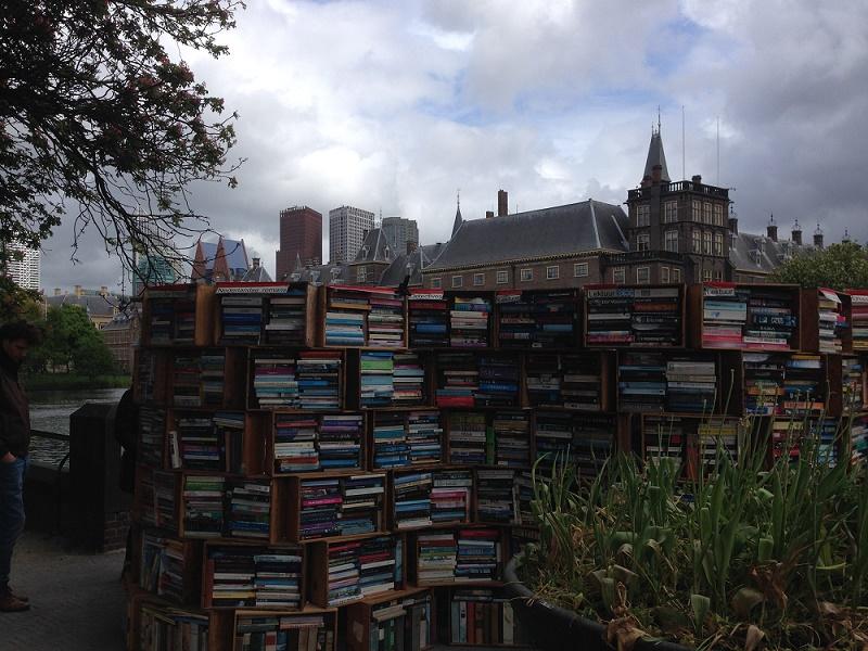 Books at Buitenhof Den Haag 1