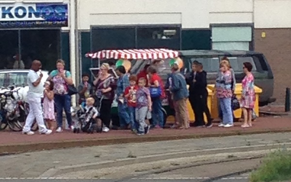Free ice cream at Strandweg (HTM promotion)