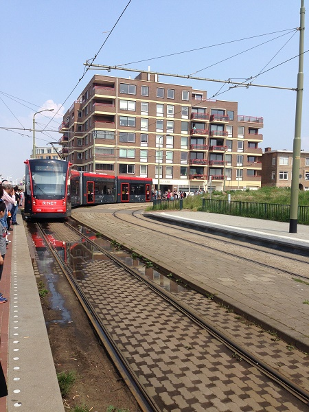 Tram 11 by Strandweg HTM The Hague