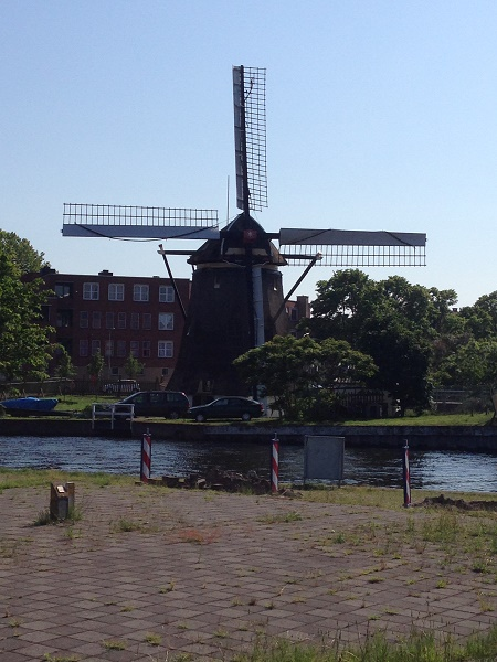 Windmill in The Hague