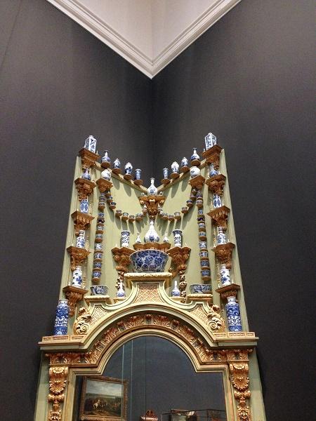 Delft blauw items at Rijksmuseum