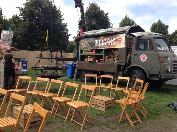 Burgers food truck, Malievald Den Haag