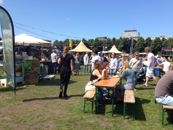 Food truck festival Malieveld Den Haag