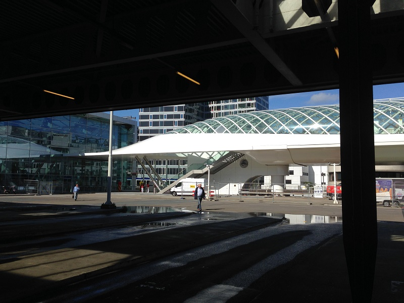 New metro station at The Hague Centraal