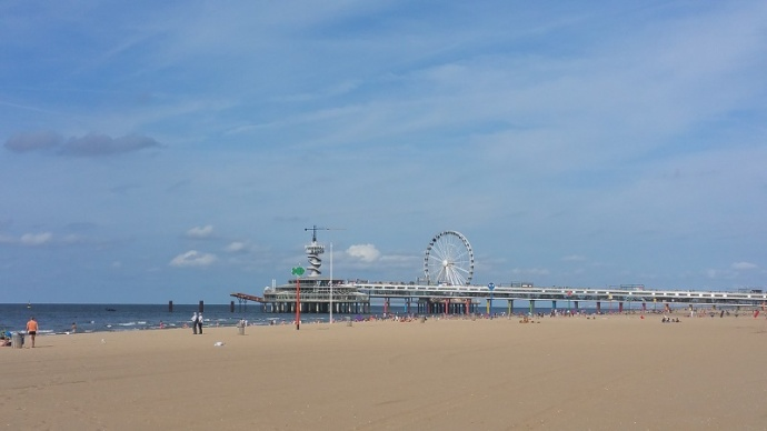 New ferris wheel in Scheveningen