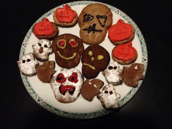 homemade-halloween-cookies