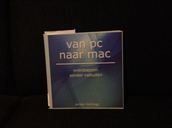 """Van PC naar Mac"" library book"