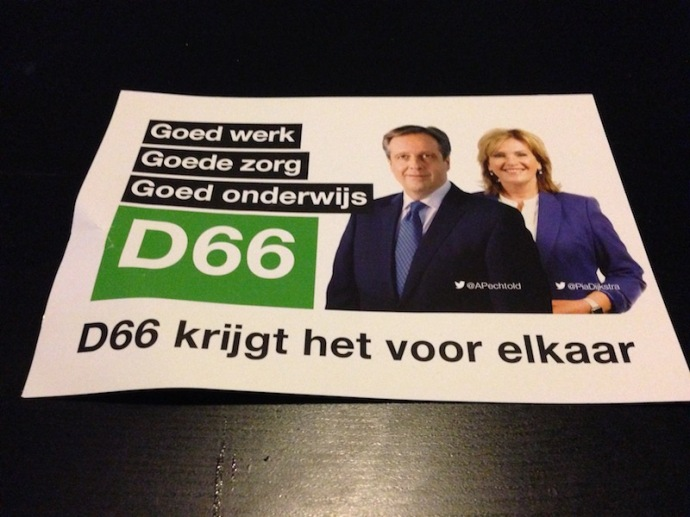 D66 ad for Dutch elections 2017