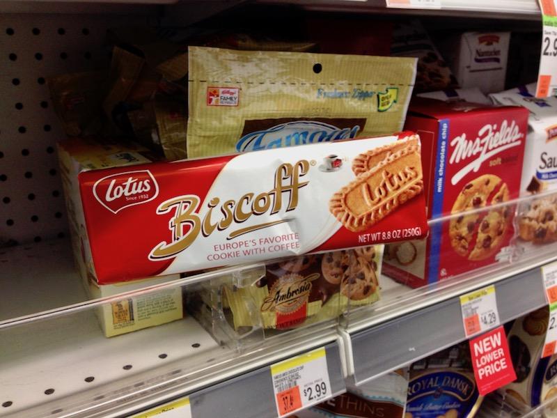 Lotus cookies renamed as Biscoff cookies in America