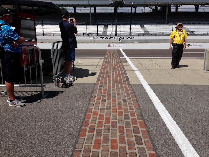 Indy 500 2017 - The bricks