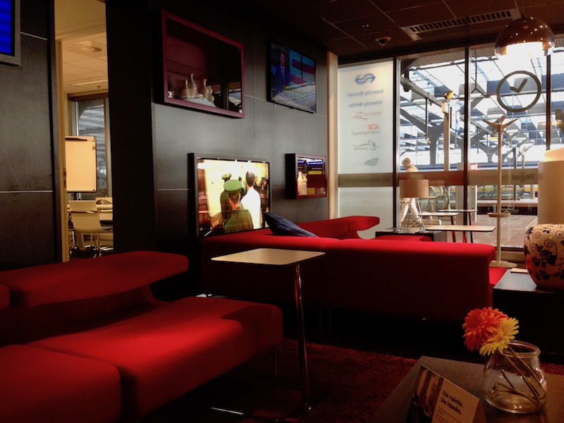 NS International lounge at Rotterdam Centraal