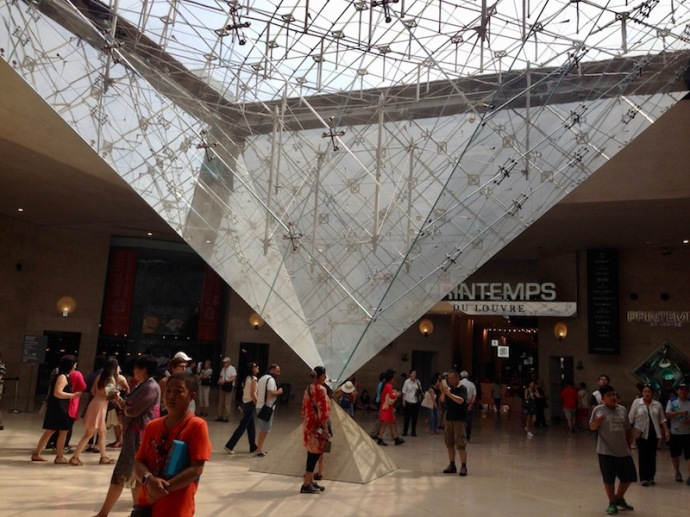 The Inverted Pyramid in Paris
