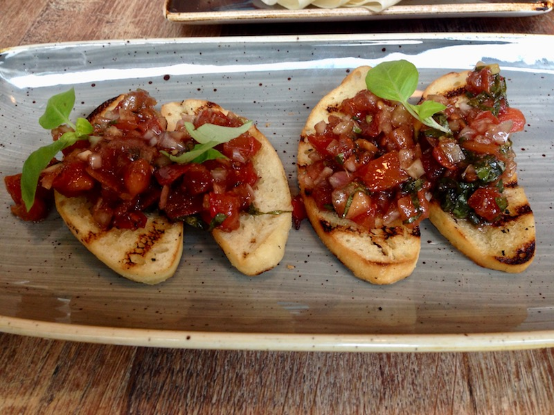 Bruschetta bread, Milu, The Hague