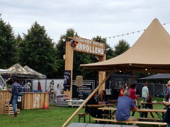 Foodtruck Festival Rrrollend, Malieveld in The Hague