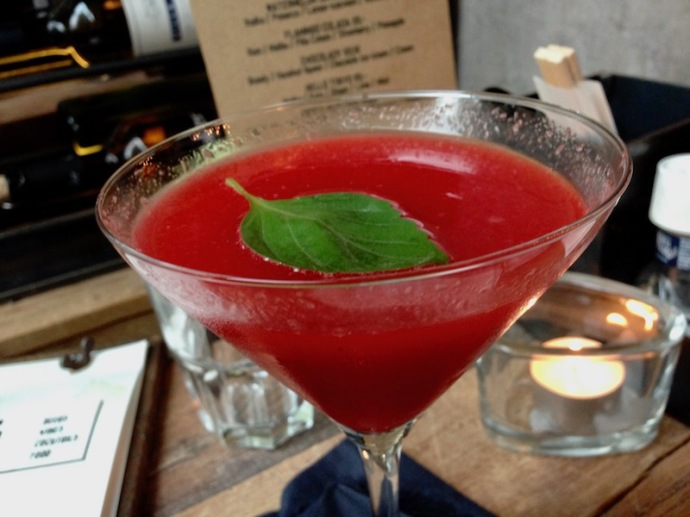 Strawberry basil daquiri, Milu, The Hague
