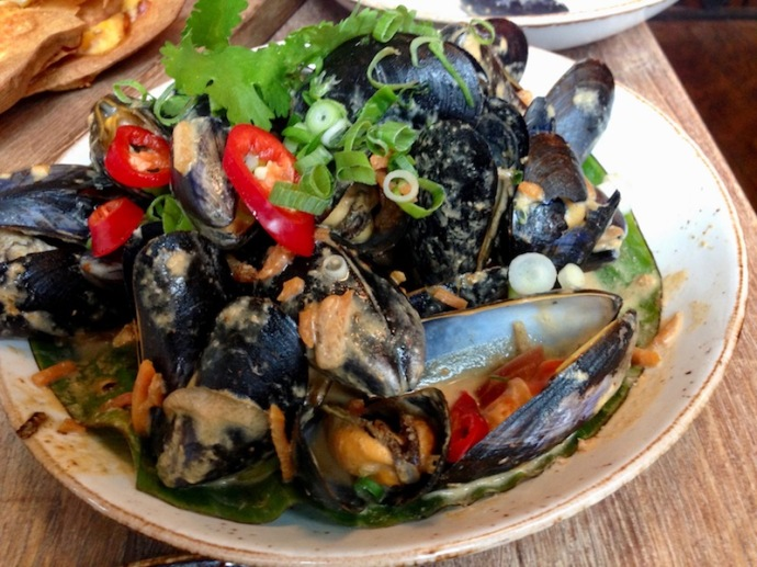 Thai curry mussels, Milu, The Hague