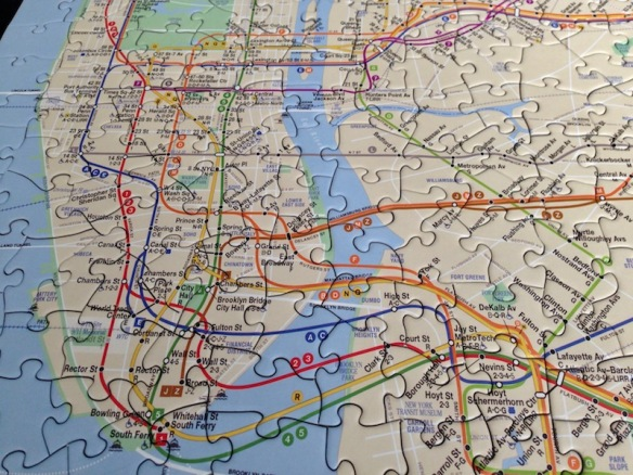 Nyc Subway Map Puzzle.New York Puzzles Or Mta Subway Map Life In The Hague