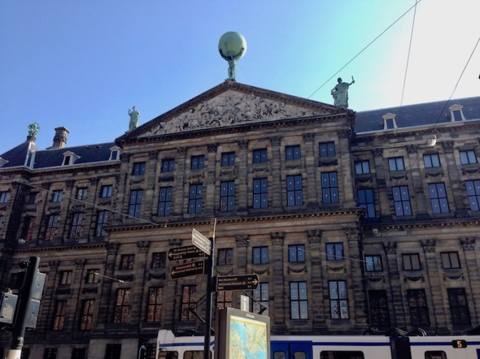 Royal Palace Amsterdam - other side, Sept 2017
